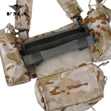 FMA Tactical pouch set Multicam Accessories bags Three-piece Set for SS Chest Rig Chest Hanging