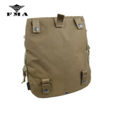 FMA Zipper-on Panel Pouch Multicam for Tactical vest CPC AVS JPC2.0 Vest Plate Carrier Bags