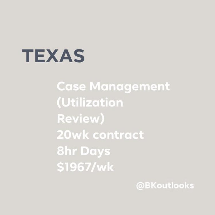 Texas - Travel Nurse (Utilization Review)