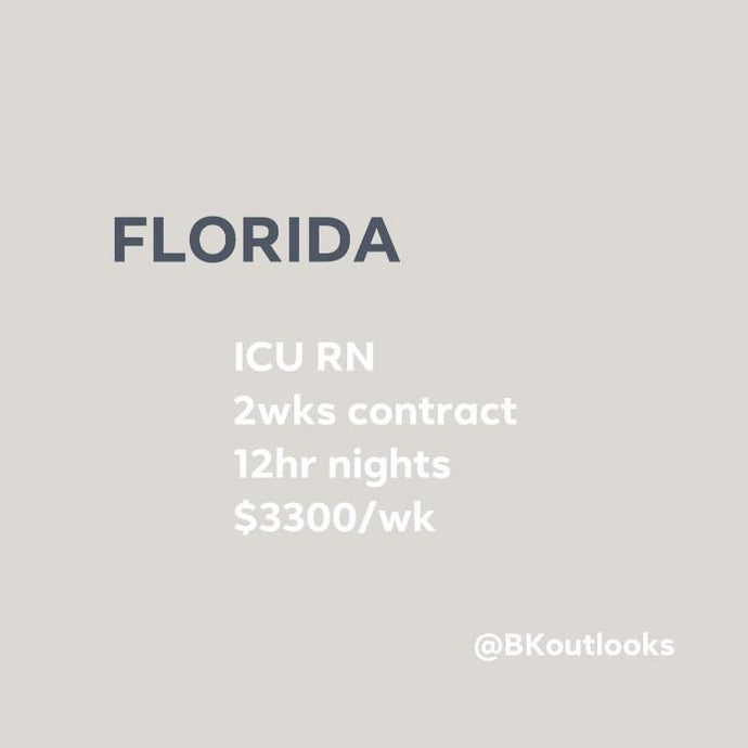 Florida - Travel Nurse (ICU RN)