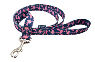 Simply Southern Leash, Flamingo