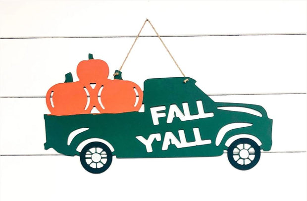 Greens Mill Fall Y'all Truck