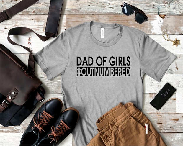 Dad of Girls Graphic Tee