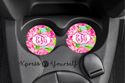 First Impressions Lilly Inspired Car Coasters