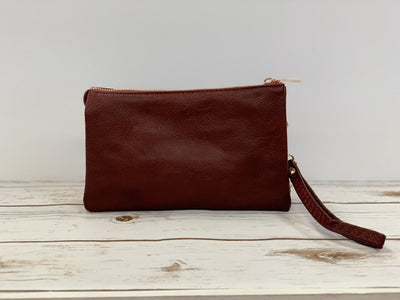 Liz Crossbody- Burgandy