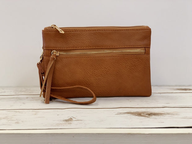 Elle Crossbody- Brown