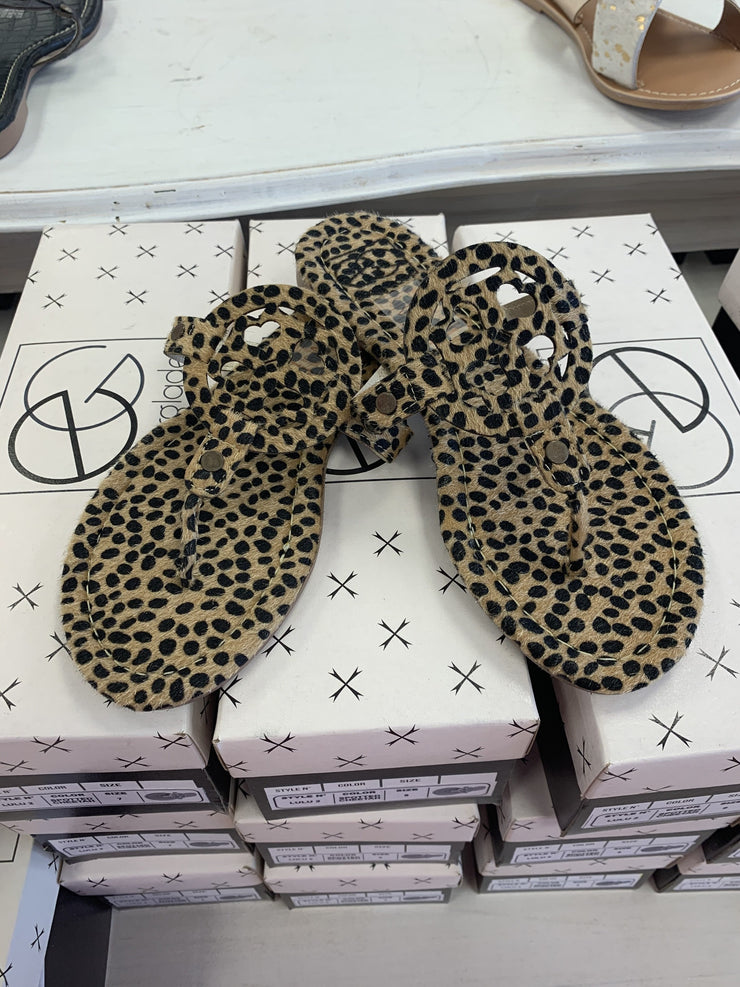 Lulu Sandals, Cheetah