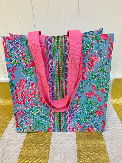 Lilly Pulitzer Best Fishes Market Tote
