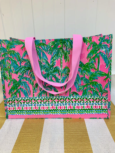 Lilly Pulizter Suite Views Carryall Market Tote