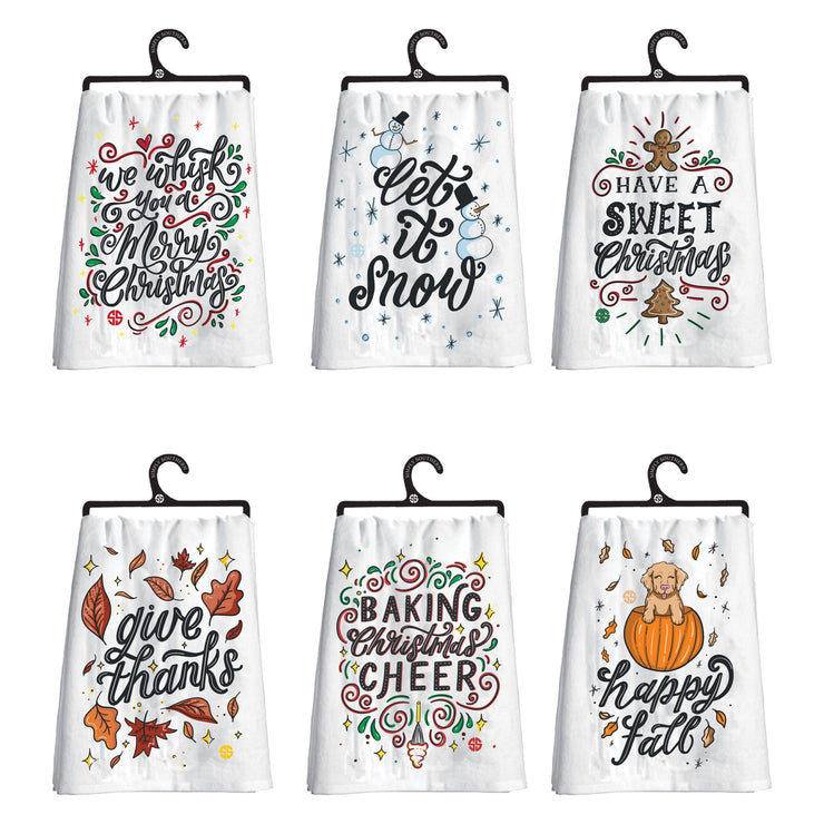 Simply Southern Holiday Dish Towel