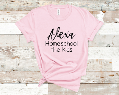 Alexa Homeschool Graphic Tee