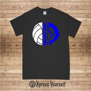 BCA Lady Trojans Volleyball Tee