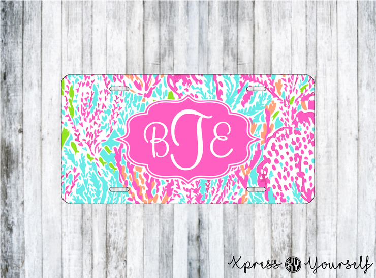 Cha Cha Lilly Inspired License Plate
