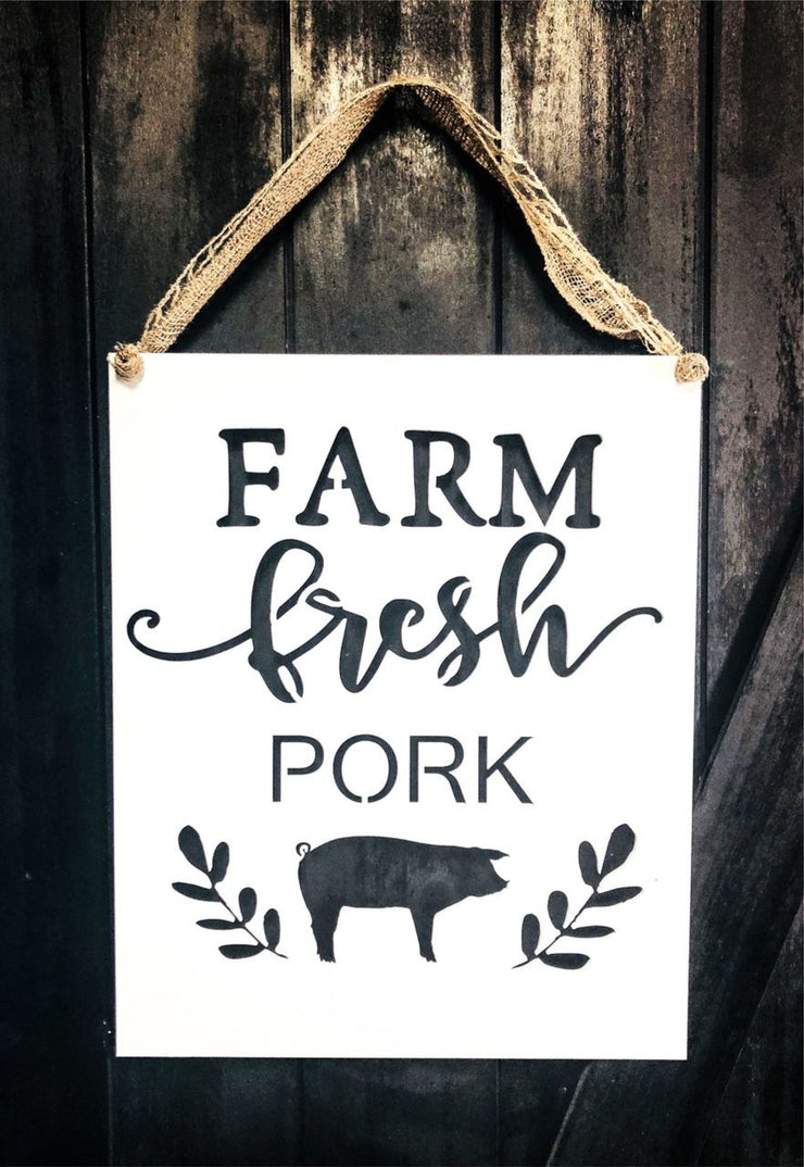 Greens Mill- Farm Fresh Pig