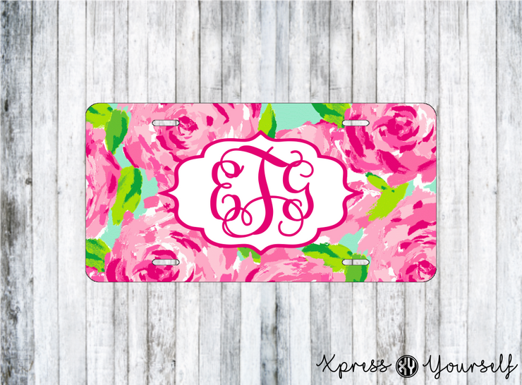 First Impressions Lilly Inspired License Plate