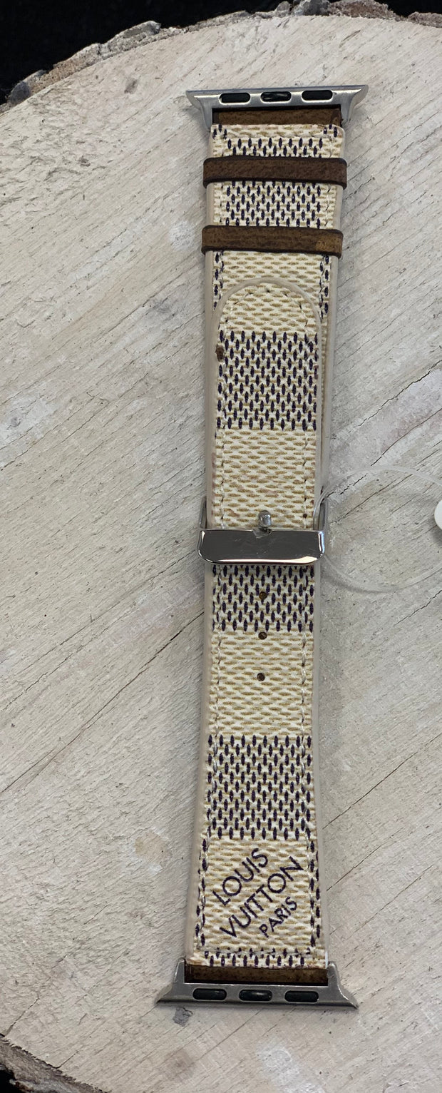 Repurposed LV Large Watch Band