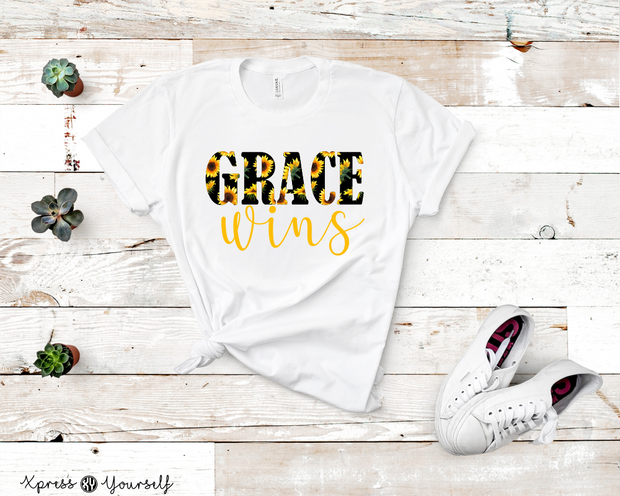 Grace Wins Graphic Tee