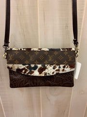 House of the Rising Sun Repurposed LV Purse