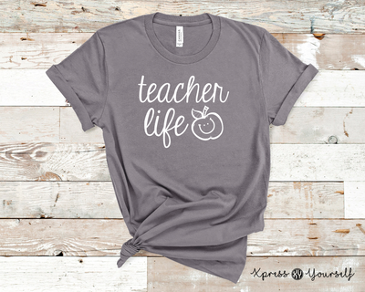 Teacher Life Graphic Tee