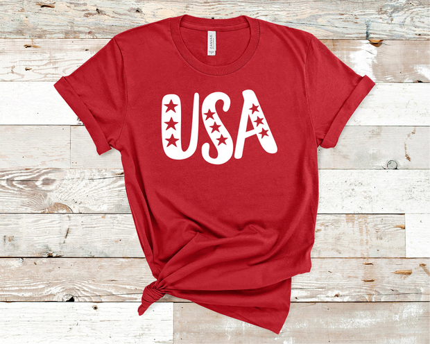USA Star Graphic Tee