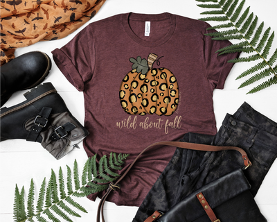 Wild About Fall Graphic Tee