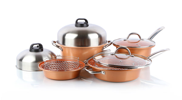 12 piece Complete Turbo Cookware set