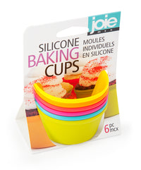 Silicone Muffin Baking Cups & Liners 6 pcs set