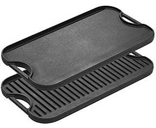 Cast Iron Grill & Griddle