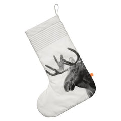 Christmas Stocking | Moose