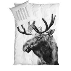 Pillowcase Moose Textiles (ByNord)
