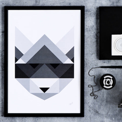 Poster Raccoon