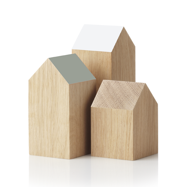 ARCH:YOU Set of 3 (Applicata). White, Cool Grey, Oak