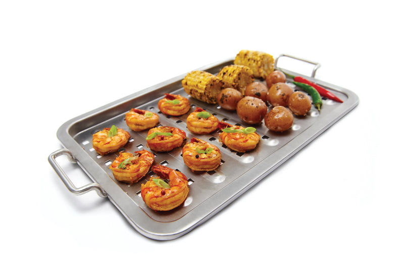 Stainless Steel Grill Topper