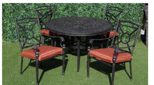 4 Seat plus Round Tara Table set
