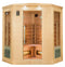 Apollon 3-4 Person Corner Carbon Infrared Sauna