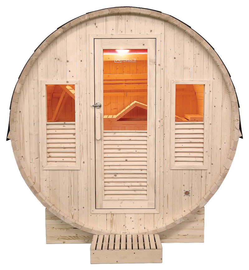 Gaia Omega Outdoor Steam Sauna 3-6 person