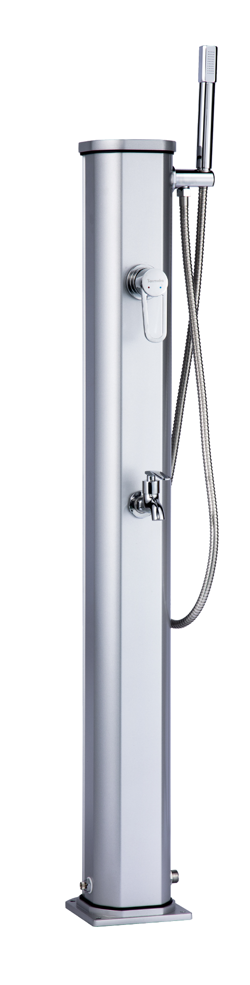 Jolly Go Outdoor Shower Argent