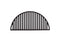 Half Moon Cast Iron Cooking Grate (Classic Joe)