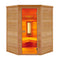 Multiwave 3 Person Corner Full Spectrum Infrared Sauna