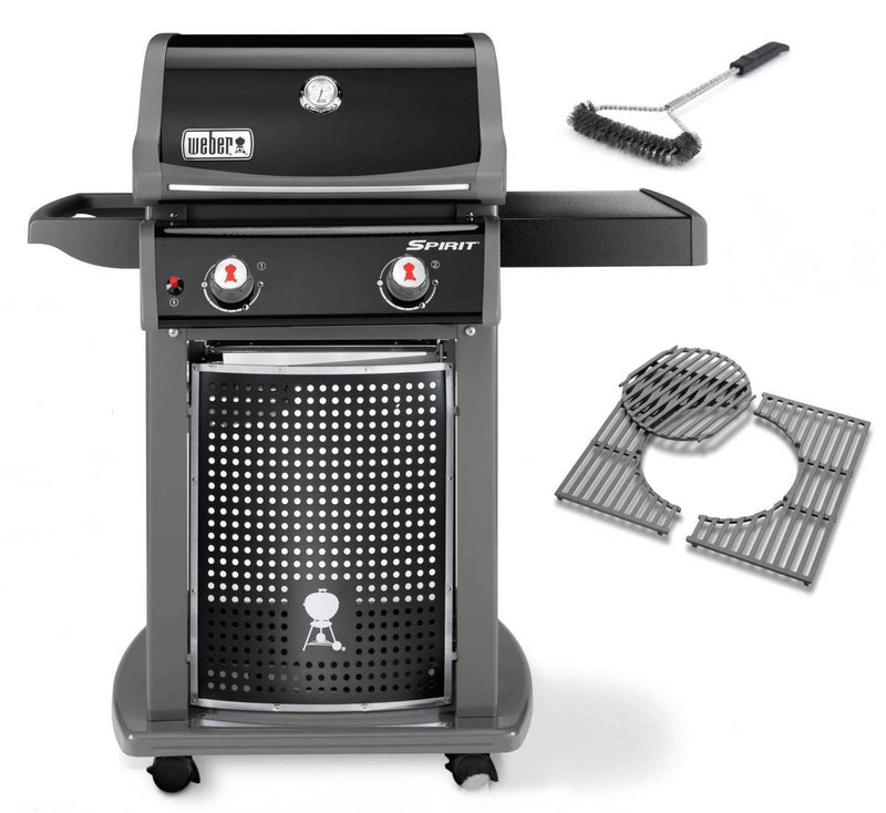 Spirit EO - 210 With Free Cast Iron Grates & Grill Brush