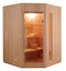 Zen 3 Person Corner Steam Sauna
