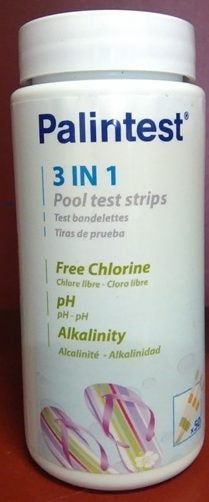 Palintest 3 In 1 Test Strips x50