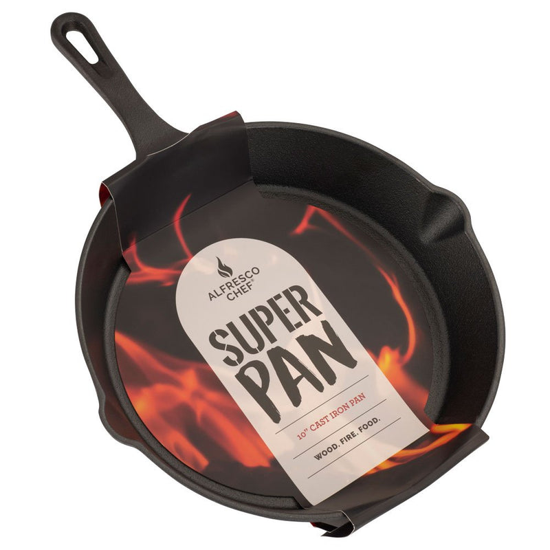 10 Inch Cast Iron Pan