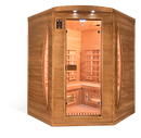 Spectra 3 Person Full Spectrum Infrared Corner Sauna