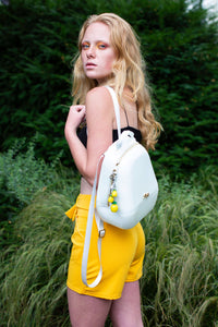 Annabelle backpack - White
