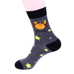 Zodiac Cancer Socks