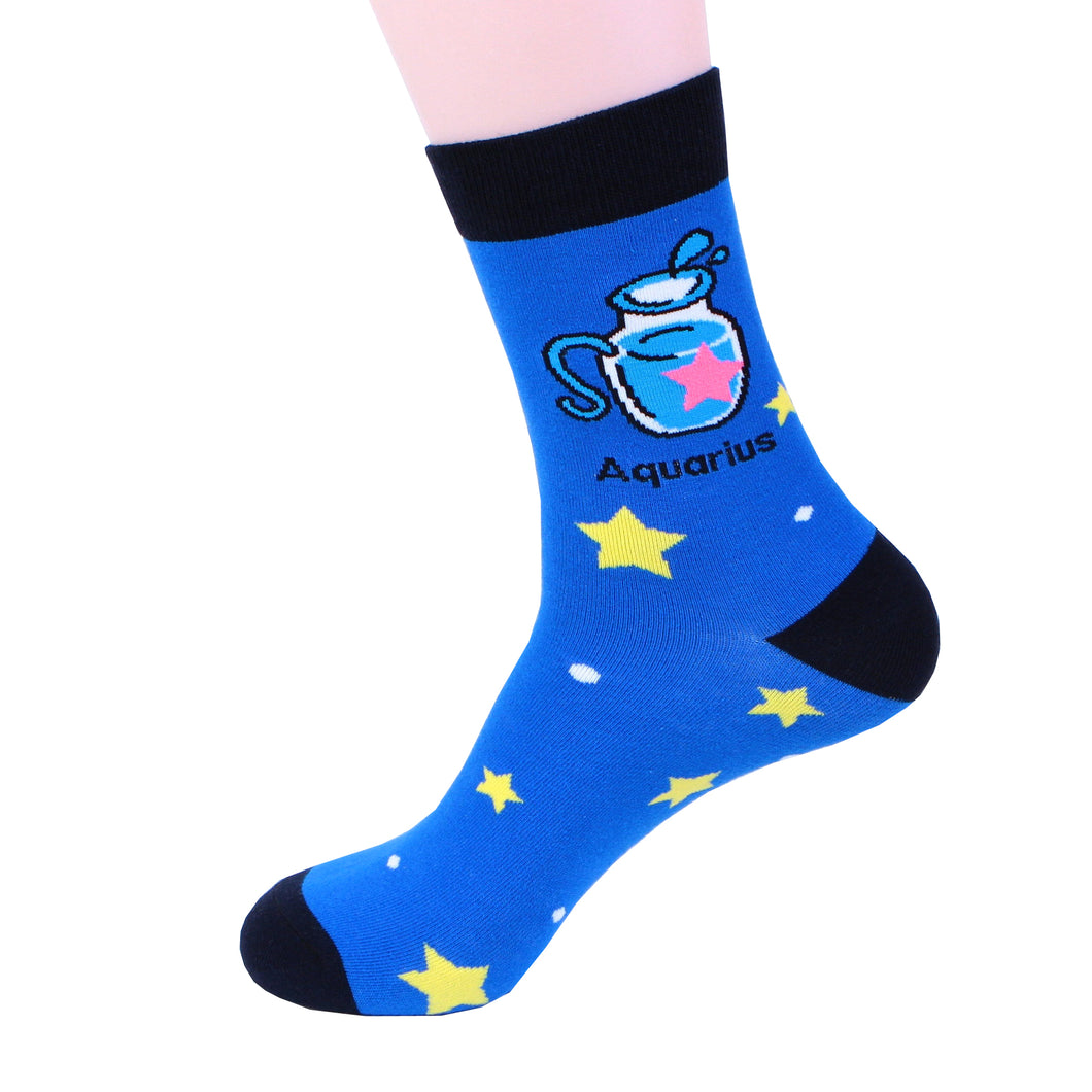 Zodiac Aquarius Socks