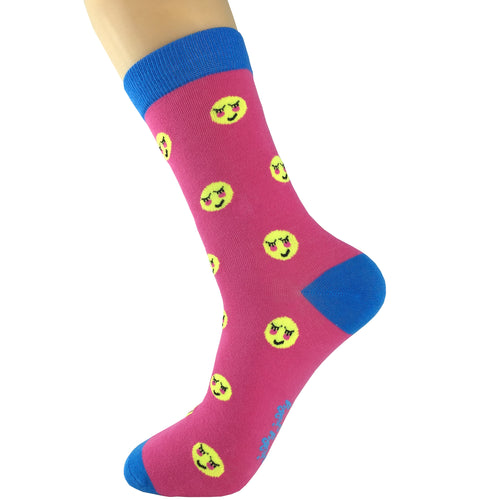 Emoji Blush Socks
