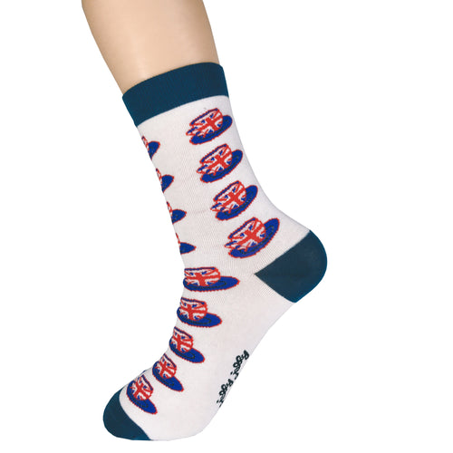 Union Jack Hat Socks