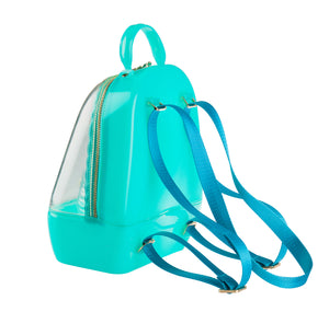 Annabelle Backpack -  Clear & Mint